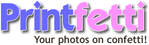 Printfetti, your photos on confetti!